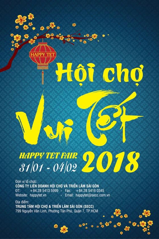 Giảm giá đến 50% tại Hội chợ Vui Tết - Happy Tet Fair 2018 ảnh 1