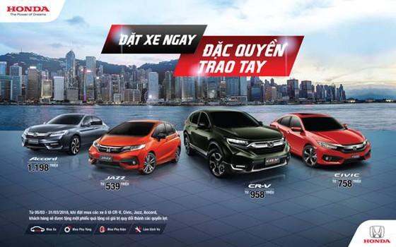 4 mẫu ô tô Honda nhập khẩu Thái Lan giá bán lẻ từ 539 triệu đồng ảnh 1
