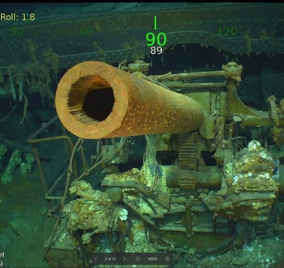 Tìm thấy xác tàu sân bay USS Lexington của Mỹ bị đánh chìm 76 năm trước ảnh 3