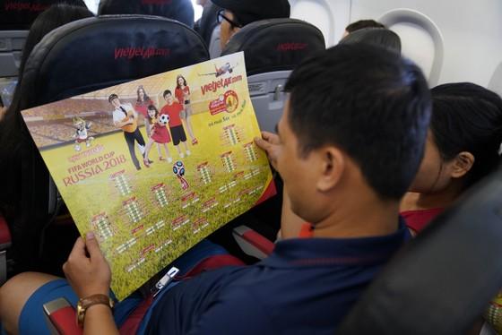 Hành khách hào hứng với lịch thi đấu World Cup 2018 của Vietjet ảnh 5