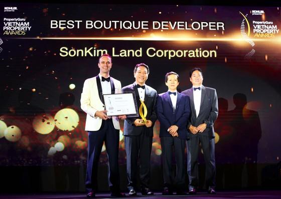 """SonKim Land được vinh danh """"Nhà phát triển BĐS xuất sắc nhất dòng Luxury Boutique"""" 2018 ảnh 1"""