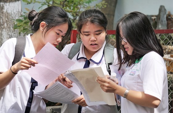 Những lưu ý sau khi có điểm thi THPT quốc gia 2018 ảnh 1