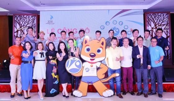 """Chú chó Bino - Linh vật chính thức của Đại hội Thể thao """"Olympic 2030"""" lần 4 - 2018 ảnh 1"""