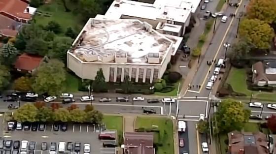11 người chết trong vụ xả súng ở giáo đường Do Thái tại Mỹ ảnh 3