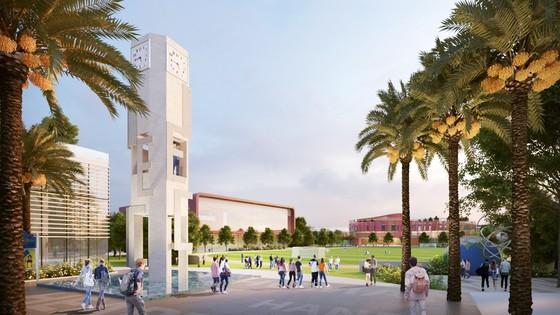 Cất nóc toàn dự án Thành phố giáo dục quốc tế IEC Quảng Ngãi ảnh 2