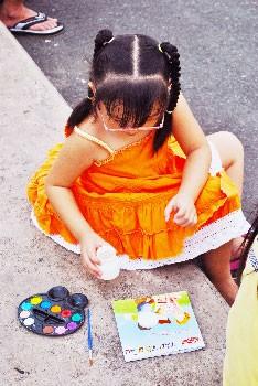 Trẻ em chơi hè ảnh 2
