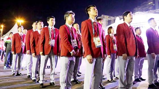 Đoàn Thể thao Việt Nam dự AIMAG 2017 với lực lượng khá hùng hậu. Ảnh: HUY THẮNG