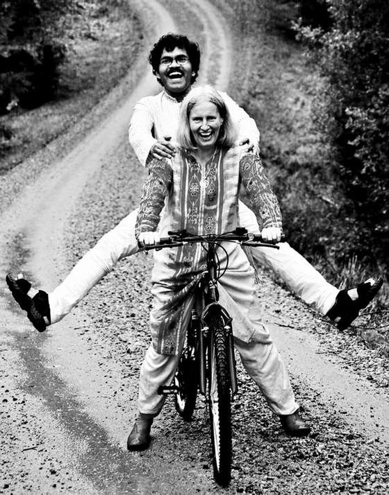 Đạp xe vì tình từ Ấn sang Âu ảnh 1