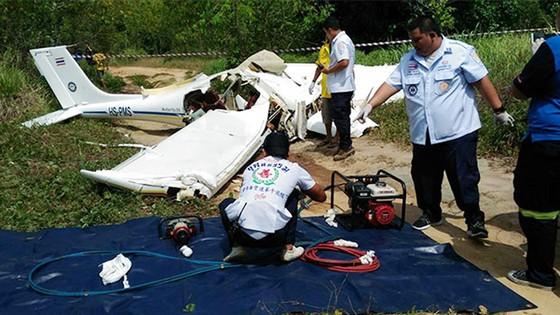 Rơi máy bay huấn luyện ở Thái Lan, 2 người thiệt mạng ảnh 1