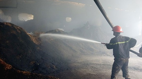 Nguy cơ hỏa hoạn tại các xưởng chế biến gỗ ở Bình Dương ảnh 1