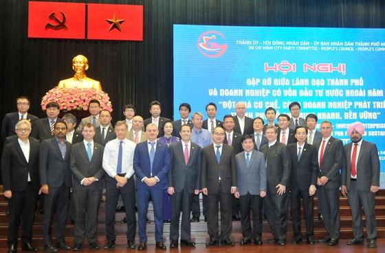Hội nghị gặp gỡ giữa lãnh đạo TPHCM và doanh nghiệp FDI: Đột phá cơ chế, phát triển nhanh và bền vững  ảnh 1