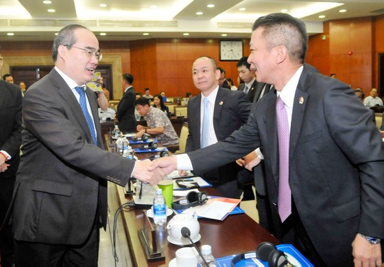 Hội nghị gặp gỡ giữa lãnh đạo TPHCM và doanh nghiệp FDI: Đột phá cơ chế, phát triển nhanh và bền vững  ảnh 2