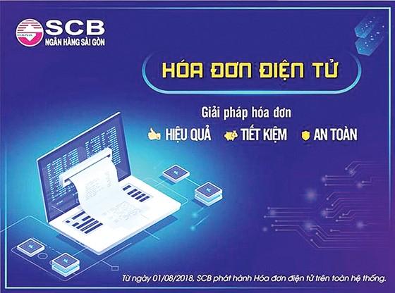 Thuận tiện hơn trong thanh toán  cùng hóa đơn điện tử SCB ảnh 1