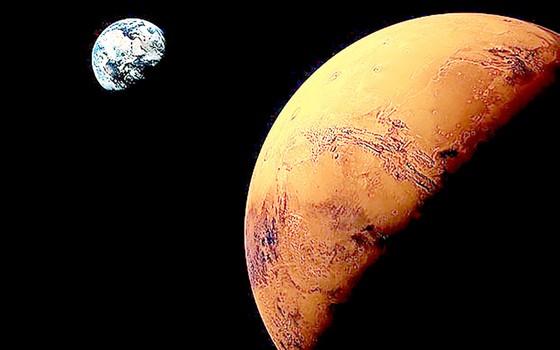 Sao Hỏa sắp đến gần Trái đất  ảnh 1