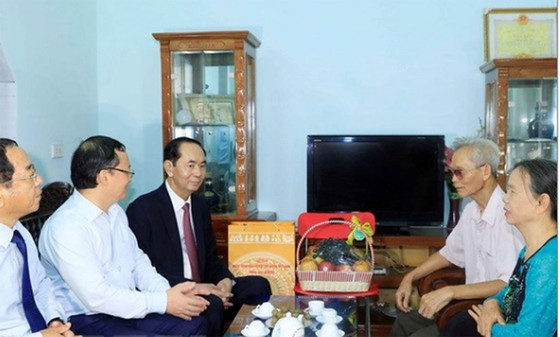 Chủ tịch nước Trần Đại Quang thăm và làm việc tại tỉnh Hưng Yên  ảnh 2