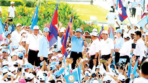 Campuchia sẵn sàng bầu Quốc hội mới ảnh 1