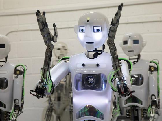 英國科學家製造出超逼真機器人 ảnh 5