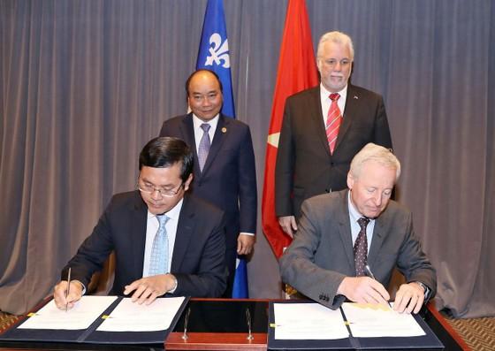 越南重視與加拿大發展關係 ảnh 1