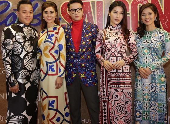 Dàn sao Việt diện áo dài mừng Cô ba Sài Gòn ảnh 4