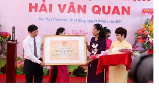 Hải Vân Quan được công nhận là di tích lịch sử và kiến trúc nghệ thuật ảnh 1