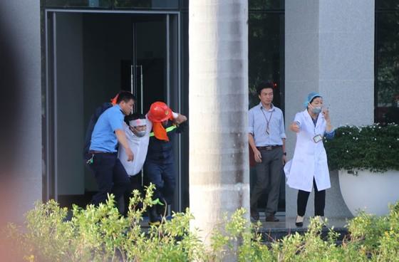 Lần đầu tiên diễn tập chữa cháy toà nhà Trung tâm hành chính TP Đà Nẵng ảnh 7