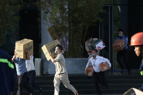 Lần đầu tiên diễn tập chữa cháy toà nhà Trung tâm hành chính TP Đà Nẵng ảnh 5
