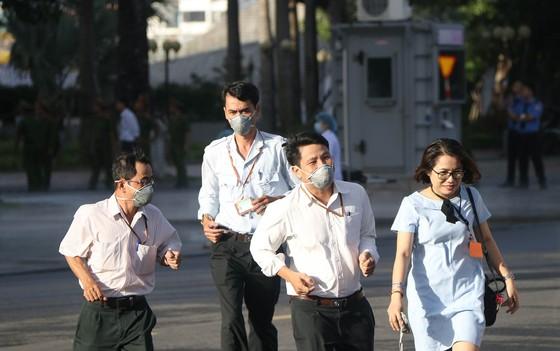 Lần đầu tiên diễn tập chữa cháy toà nhà Trung tâm hành chính TP Đà Nẵng ảnh 3