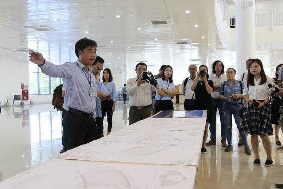 Cận cảnh Trung tâm báo chí quốc tế phục vụ APEC  ảnh 1
