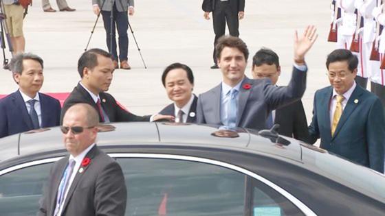 Thủ tướng Canada đã đến Đà Nẵng dự APEC  ảnh 8