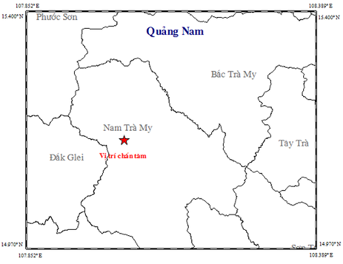 Một ngày, Quảng Nam xảy ra 4 trận động đất liên tiếp ảnh 1