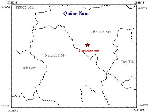 Một ngày, Quảng Nam xảy ra 4 trận động đất liên tiếp ảnh 2