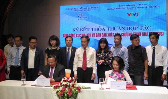 Tổng cục Du lịch và VTV3 ký thỏa thuận hợp tác quảng bá du lịch Việt Nam qua game show ảnh 1