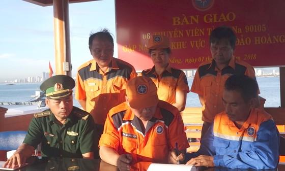 Tàu cá cùng 6 ngư dân Đà Nẵng gặp nạn ở phía Nam quần đảo Hoàng Sa ảnh 3