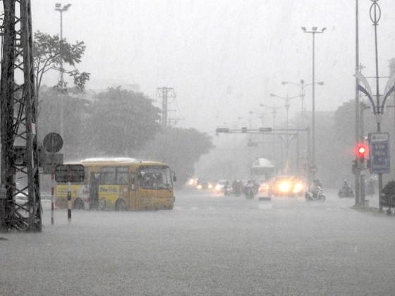 Mưa to trắng đêm, nhiều khu vực TP Đà Nẵng ngập nặng  ảnh 14