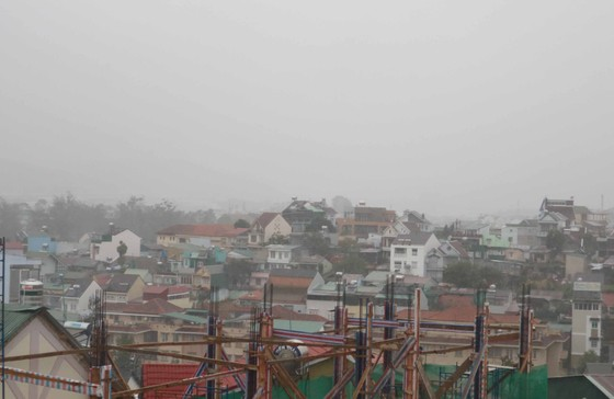 Lâm Đồng: Toàn bộ học sinh được nghỉ học tránh bão ảnh 1