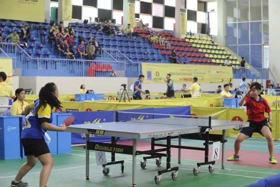 136 tay vợt tranh tài tại Giải Bóng bàn toàn quốc 2018