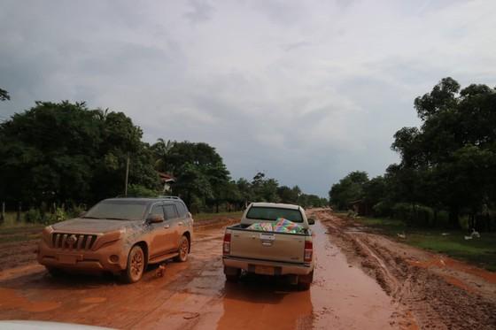 PV Báo SGGP ghi nhận tình hình cứu hộ người bị nạn vụ vỡ đập tại Lào ảnh 6