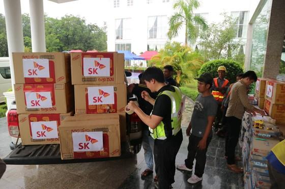 PV Báo SGGP ghi nhận tình hình cứu hộ người bị nạn vụ vỡ đập tại Lào ảnh 2