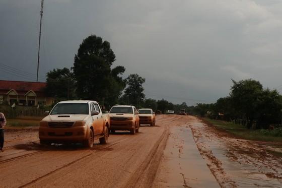 PV Báo SGGP ghi nhận tình hình cứu hộ người bị nạn vụ vỡ đập tại Lào ảnh 5
