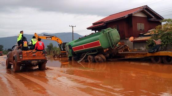 PV Báo SGGP ghi nhận tình hình cứu hộ người bị nạn vụ vỡ đập tại Lào ảnh 10