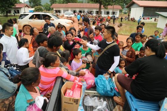 Lực lượng cứu hộ quốc tế đổ về Lào cứu trợ sau vụ vỡ đập thủy điện ảnh 12
