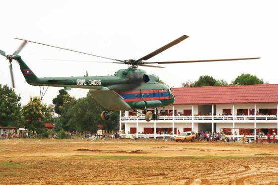 Quân đội tập trung tìm kiếm nạn nhân mất tích vụ vỡ đập thủy điện ở Lào ảnh 1