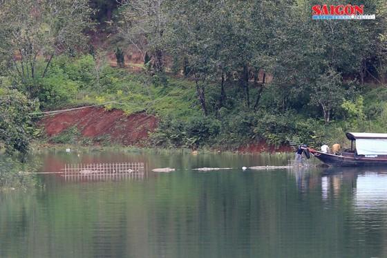 """Tháo dỡ bờ kè xây dựng """"chui"""" tại hồ Tuyền Lâm - Đà Lạt ảnh 1"""