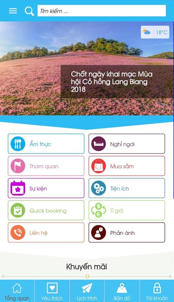 Ứng dụng Dalat City cung cấp thông tin và tiện ích cho người dân và du khách ảnh 2