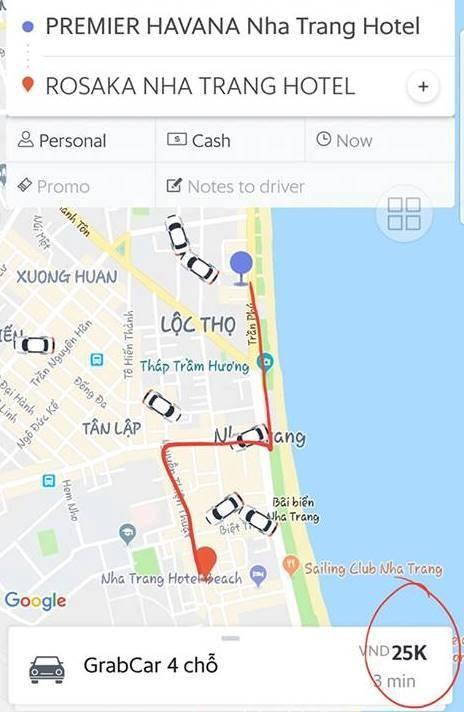 Tài xế một hãng taxi tại Nha Trang ép du khách trả phí bất chính lại còn hăm dọa, chửi bới ảnh 1