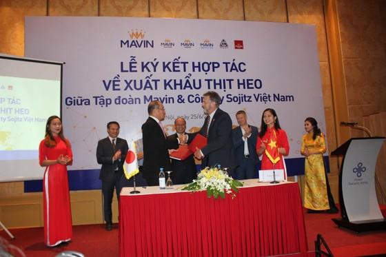 Lần đầu tiên, Việt Nam xuất khẩu thịt heo theo đường chính ngạch ảnh 1