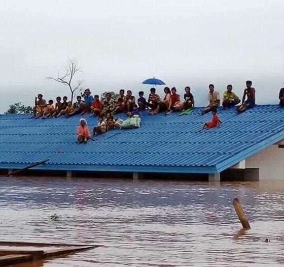 Lũ ở ĐBSCL đang lên nhanh do triều cường kết hợp vỡ đập thủy điện ở Lào ảnh 2