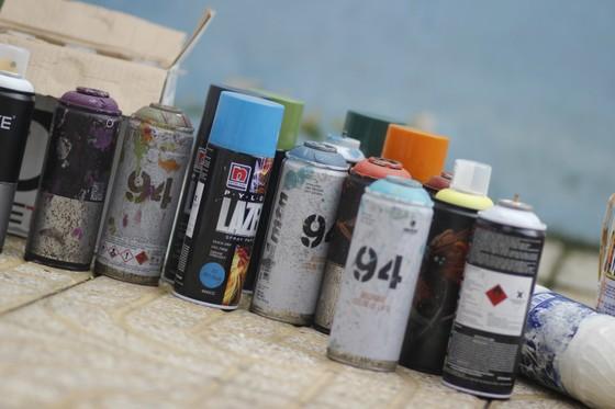 Khi người trẻ... đói sân chơi Graffiti ảnh 4