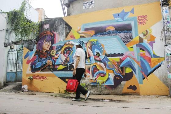 Khi người trẻ... đói sân chơi Graffiti ảnh 14