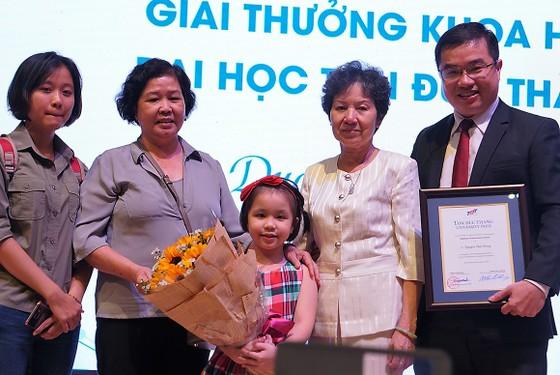 4 nhà khoa học xuất sắc quốc tế nhận giải thưởng TDTU PRIZE ảnh 3